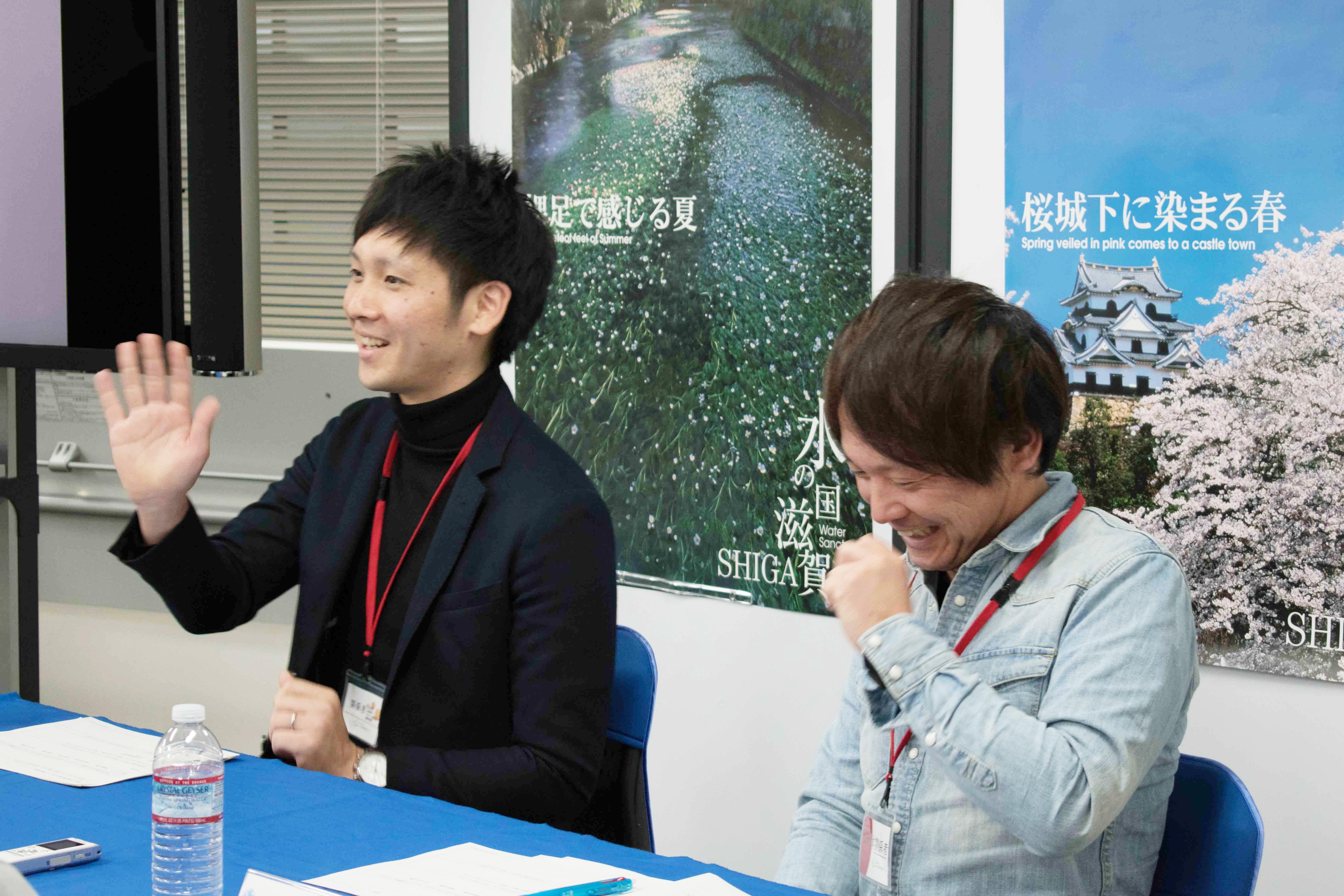 ゲスト・綾羽株式会社、三友エレクトリック株式会社(しが移住相談会)