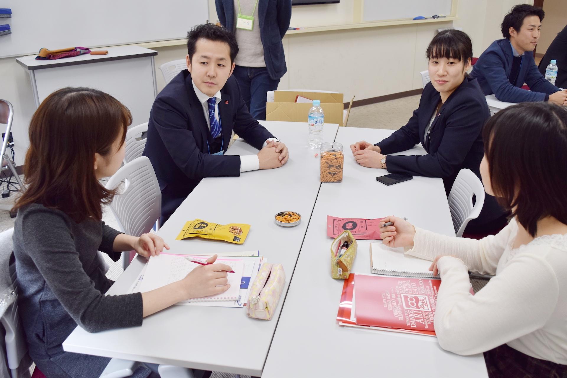 学生との交流会・大橋珍味堂 byしがと、しごと。