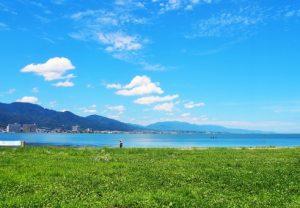 滋賀県の未来イメージ(琵琶湖)